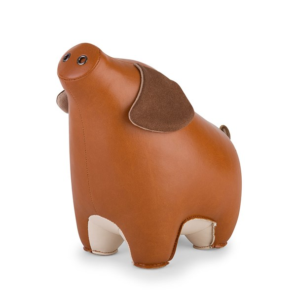 Pig Diya Animal Bookend by Zuny