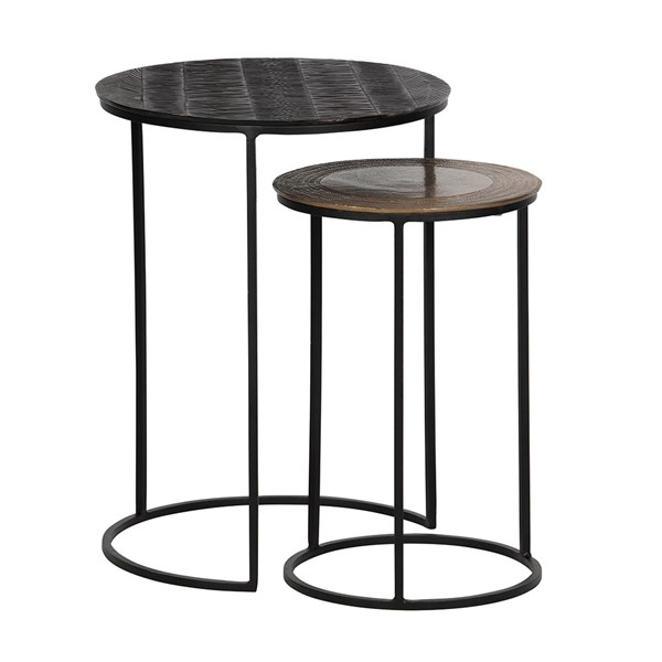 Tate Set of 2 Side Tables by Woood