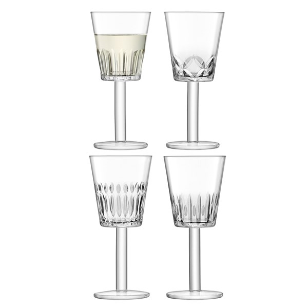LSA International Tatra Wine Glasses Set
