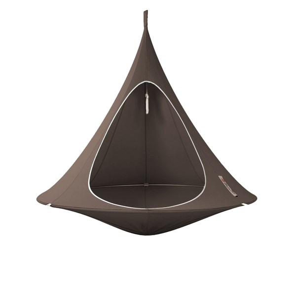 Double Hanging Cacoon in Taupe