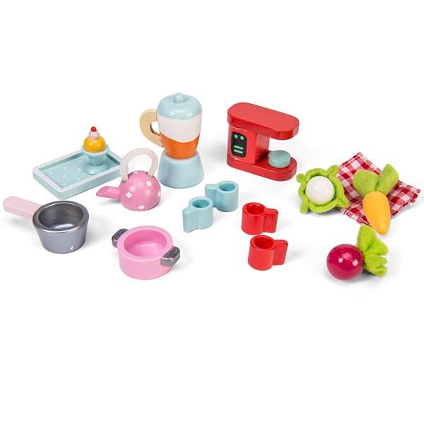 Le Toy Van Dolls House Tea-Time Accessories Set