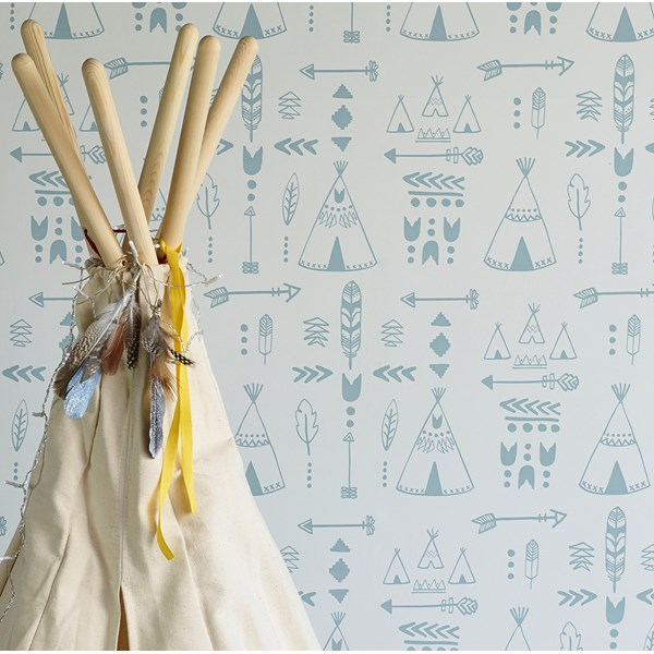 Teepee Wallpaper