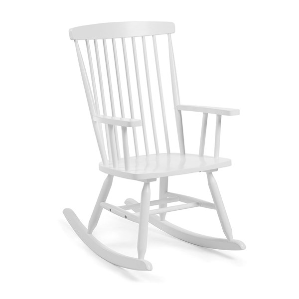 Terence Rocking Chair in White by La Forma