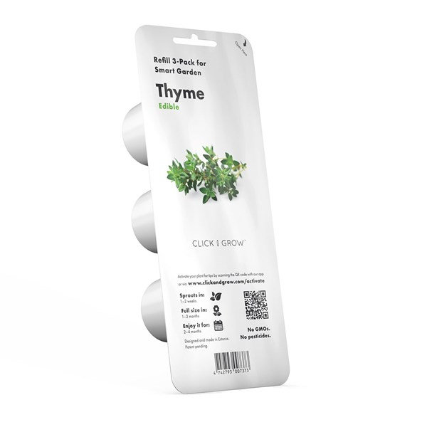 Click and Grow Smart Garden Thyme Plant Pods 3 Pack