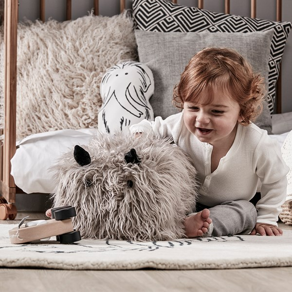Kid's Concept Children's Neo Fluffy Seat Pouf Toy