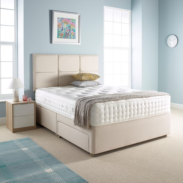 Relyon Toulouse Mattress and Standard Padded Top Divan Set