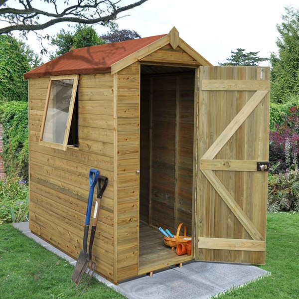 Forest Garden Tongue & Groove 6x4 Apex Shed