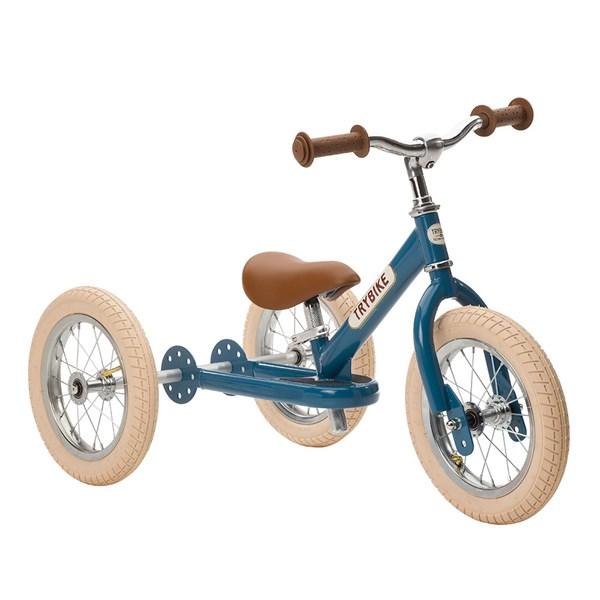 Trybike 2 in 1 Balance Trike in Vintage Blue