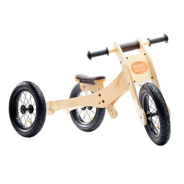 Trybike 4 in 1 Wooden Balance Trike