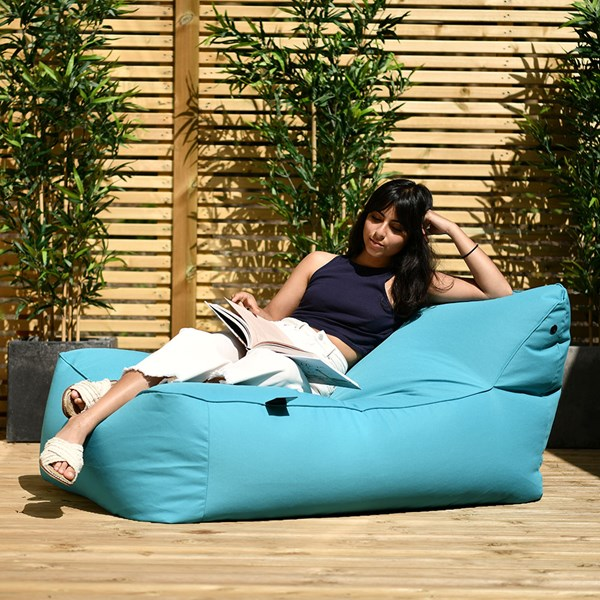 Extreme Lounging B Bed Outdoor Bean Bag in Aqua