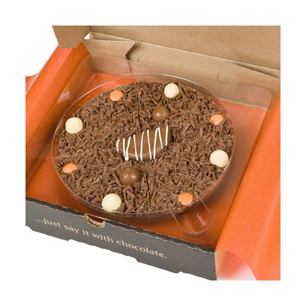 Ultimately Orange Chocolate Pizza by The Gourmet Chocolate Pizza Company