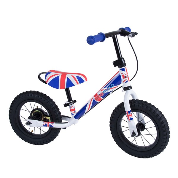 Super Junior Max Balance Bike in Union Jack by Kiddimoto