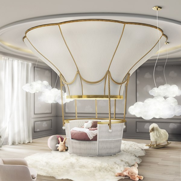 Hot Air Balloon Luxury Kids Bed