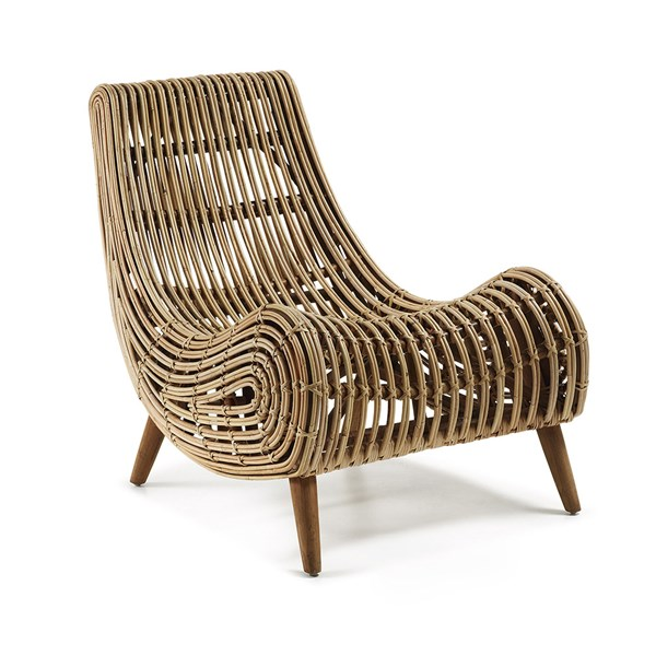 Akit Natural Rattan Armchair
