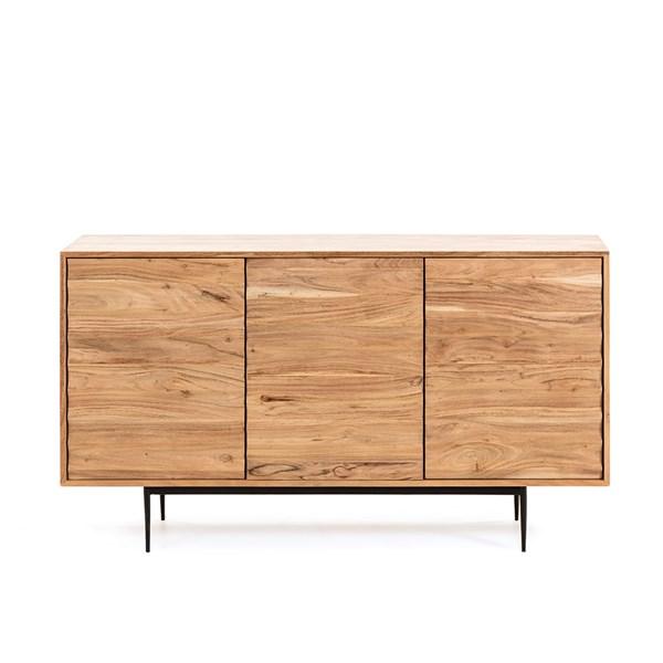 Delsie Acacia Wood Sideboard