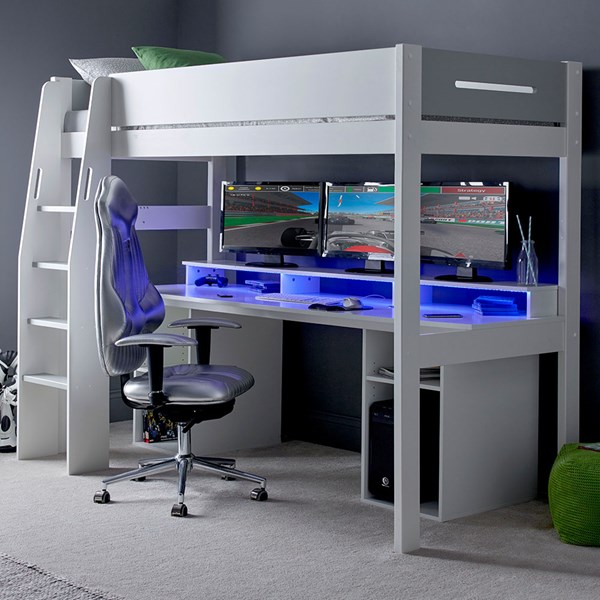Urban Grey PC Gaming High Sleeper 5