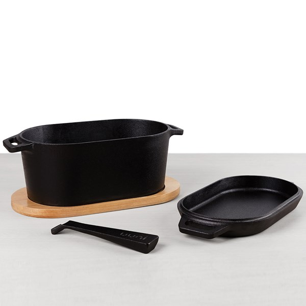 Uuni Pro Casserole Dish and Sizzler Pan Set