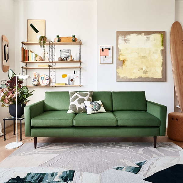 Swyft Model 01 Velvet 3 Seater Sofa