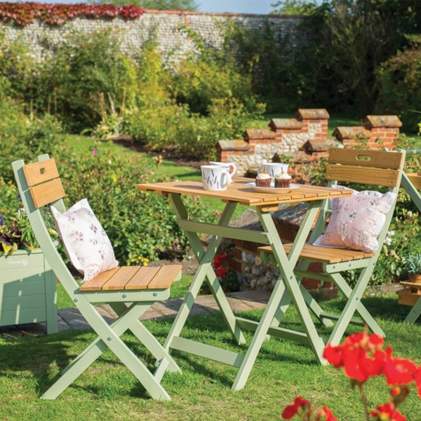 Small Garden Bistro Table and Chairs
