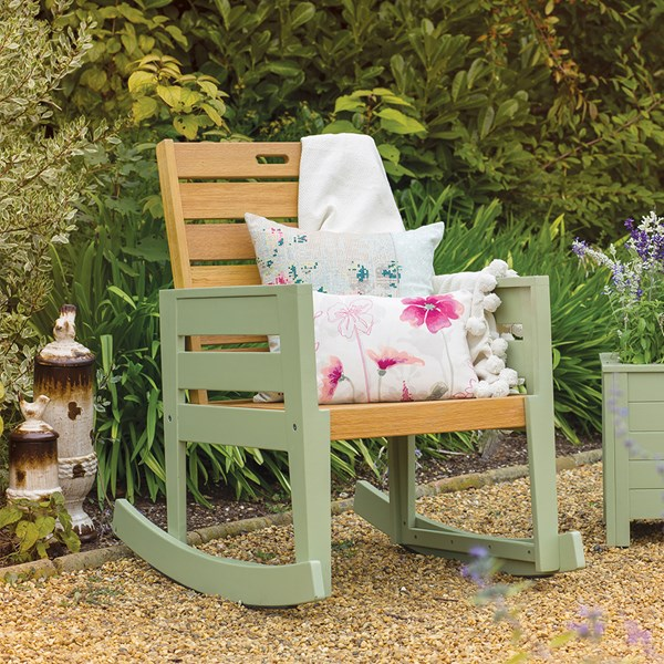 Verdi Vintage Garden Rocking Chair