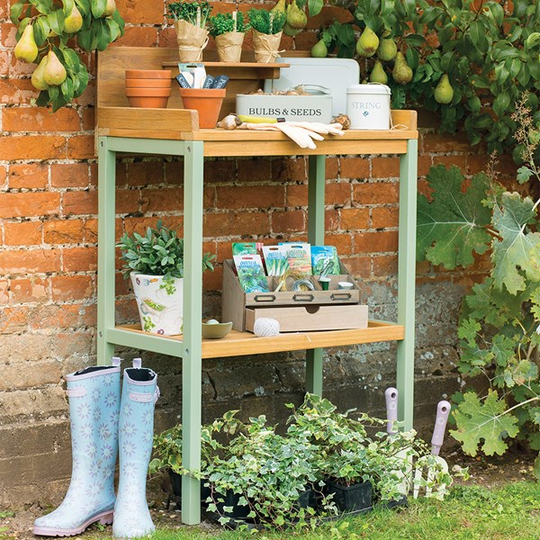 Verdi Garden Potting Table Plant Stand