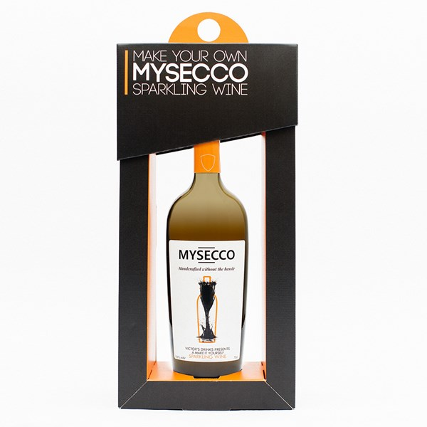 Victors Drinks Mysecco Sparkling Wine Kit