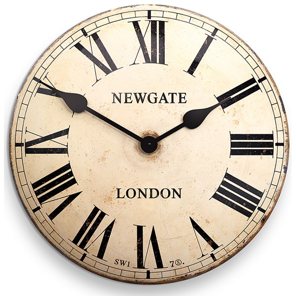 Large Metal Clocks