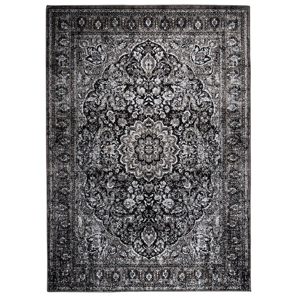 Chi Persian Style Rug in Black