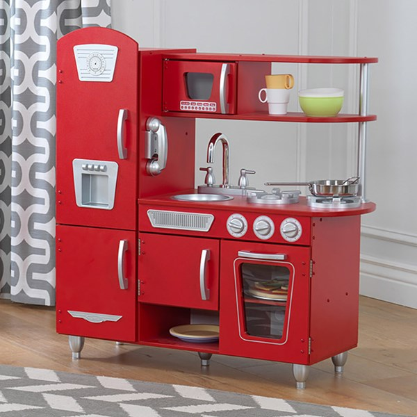 Kidkraft Kids Vintage Kitchen in Red