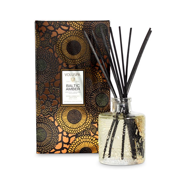 Voluspa Reed Diffuser in Baltic Amber