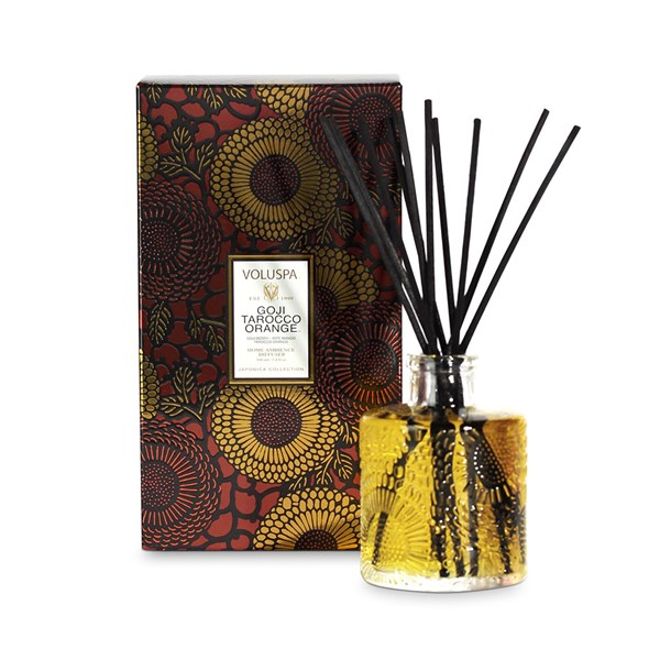 Voluspa Reed Diffuser in Goji and Tarocco Orange