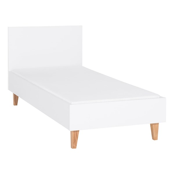 Concept Kids Single Bed in White