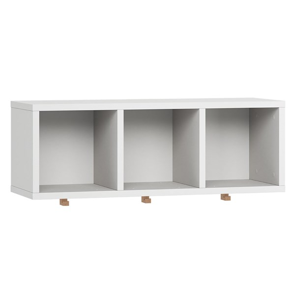 Vox Simple Wall Shelf with Hooks