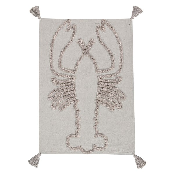 Lorena Canals Washable Lobster Wall Hanging in Natural