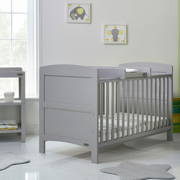 Obaby Grace Cot Bed with Cot Top Changer