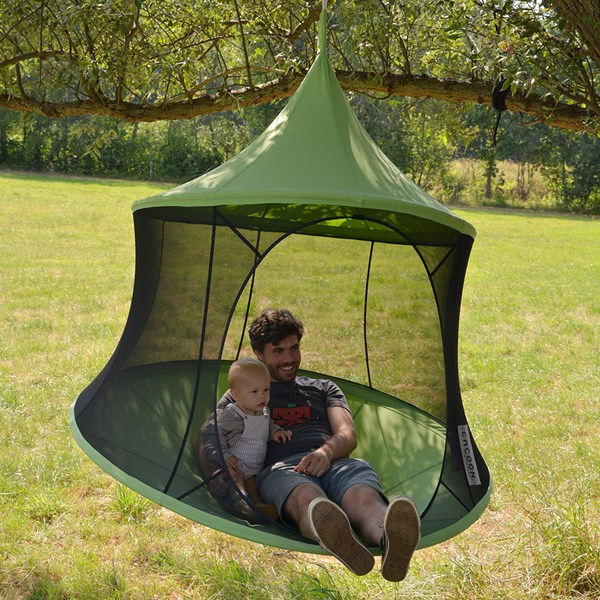 Cacoon Reto Hanging Chair in Green