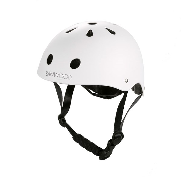 Banwood Kids Cycle Helmet in White