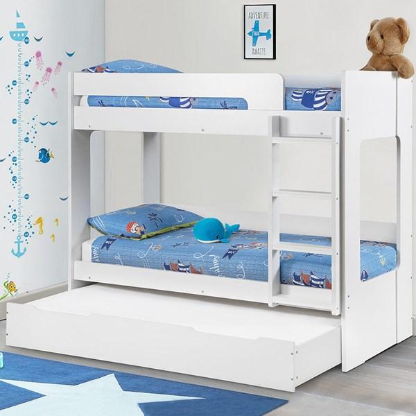 Julian Bowen Ellie Kids Bunk Bed with Optional Trundle Bed