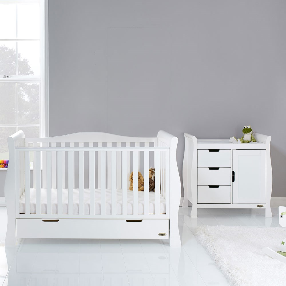Obaby Stamford Luxe Cot Bed 2 Piece