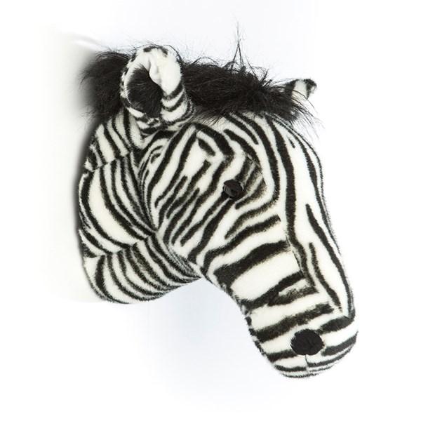 Daniel the Zebra Kids Plush Animal Head Wall Decor