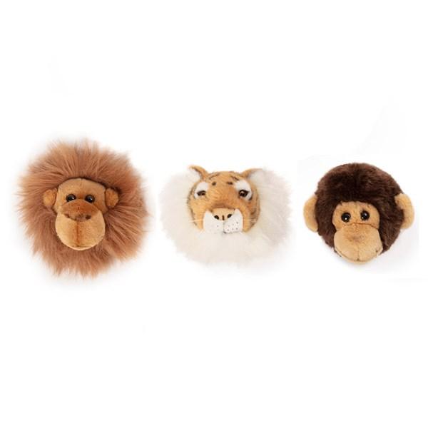 Jungle Box Kids Mini Animal Wall Heads