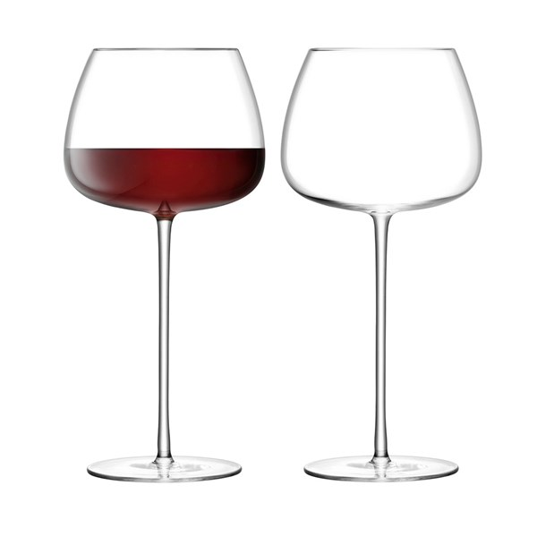 LSA Wine Culture Red Wine Balloon Glasses Set of 2