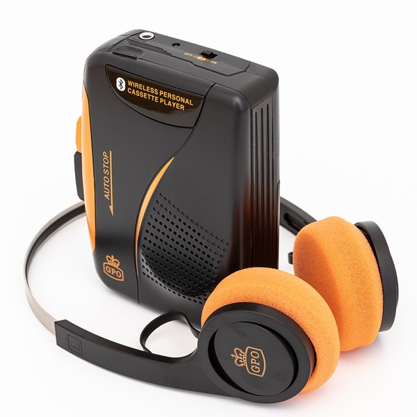 GPO Retro Portable Cassette Player with Bluetooth
