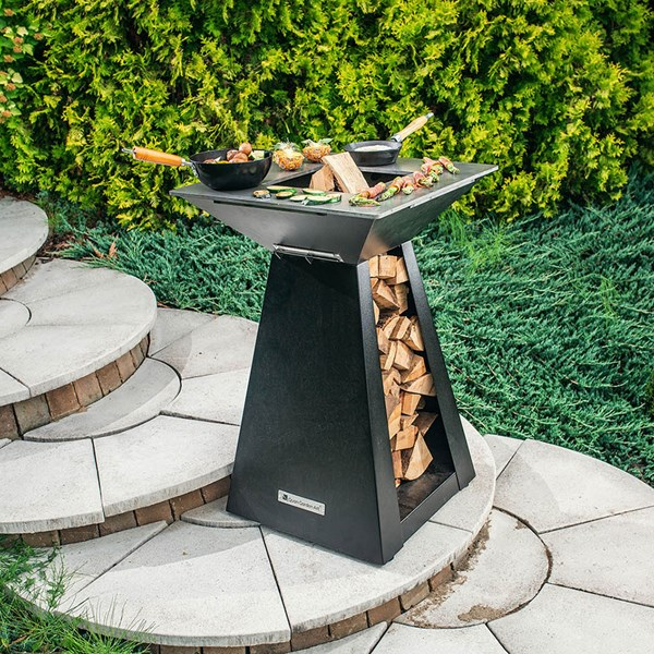 Quan Quadro Small Barbecue Fire Pit