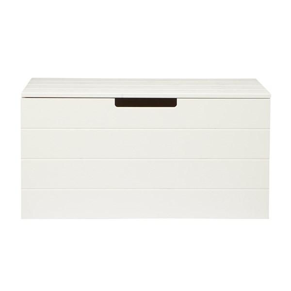 Contemporary Storage Box in White