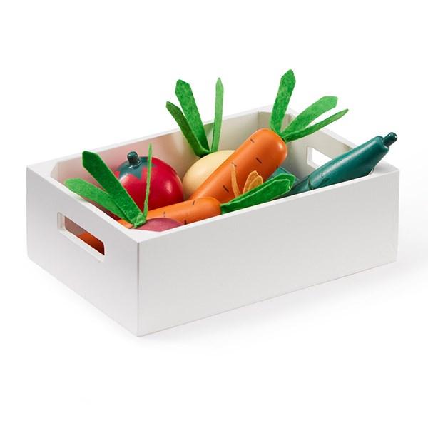 Kids Concept Wooden Bistro Mixed Vegetable Box