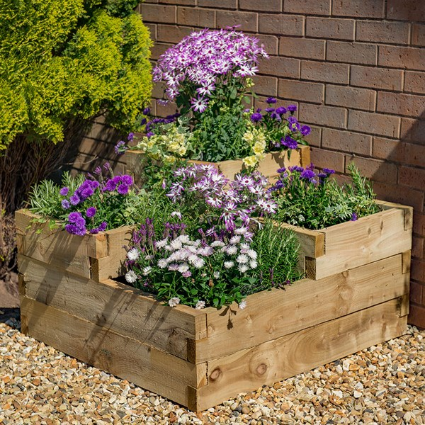Forest Garden Caledonian Tiered Planter
