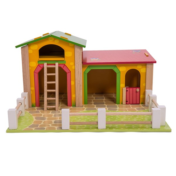 Childrens Play Farm Yard Wooden Building