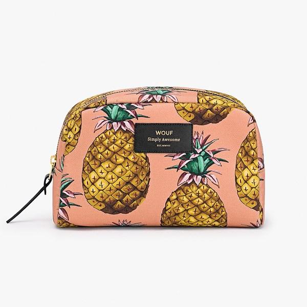 Wouf Ananas Pineapple Big Beauty Makeup Bag
