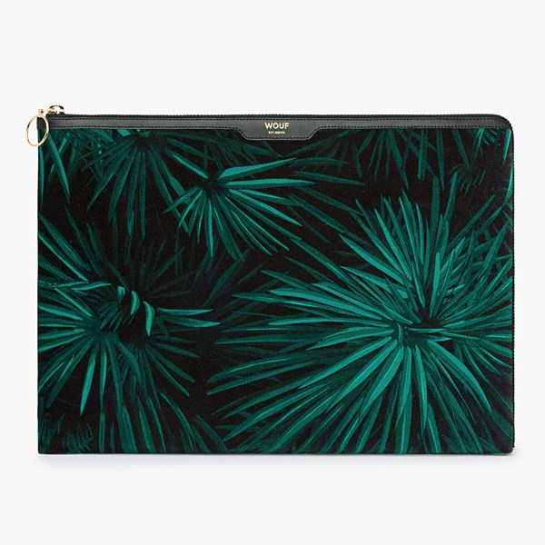 Wouf Amazon Velvet Laptop Sleeve 13 Inch
